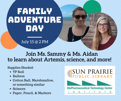 Family Adventure Day with Ms. Sammy and Ms. Aidan!